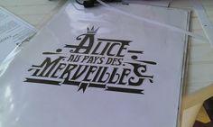"Typo"" Alice au pays des Merveilles"" (Stony)"