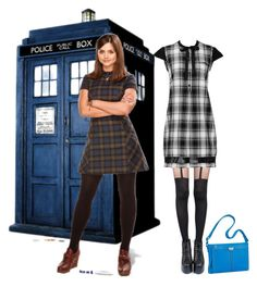"""""""Doctor Who?"""" by chileez ❤ liked on Polyvore featuring Pretty Polly and Brighton"""