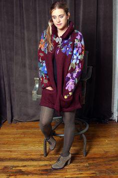 Ravelry: Floral Splendor Jacket pattern by Nicky Epstein