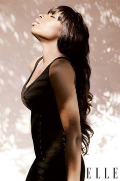 Famous Actress,American Idol 7th-Place Finalist,Dancer,Singer Jennifer Hudson.