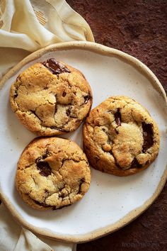 Greek Desserts, Chewy Chocolate Chip Cookies, Healthy Sweets, Junk Food, Good Food, Cooking Recipes, Chips, Cake, Kuchen