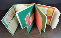 File folder scrapbook