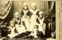 Six Parlour Maids | Flickr - Photo Sharing!