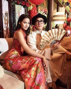 Thai Princess, Face Photography, Haircut And Color, Korean Music, Sweet Couple, Celebrity Couples, Asian Woman, Cute Couples, Cute Outfits