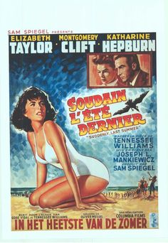 belgium movie posters | Suddenly Last Summer - Belgian (1960)