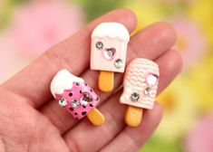 Cabochons Nail Varnish Flatback Phone Cases Decoden Kawaii Kitsch Mini X 10