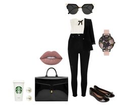 """🗿"" by lena1612 ❤ liked on Polyvore featuring Maison Margiela, River Island, Accessorize, Louis Vuitton, Marc Jacobs, Olivia Burton, Fendi and Lime Crime"