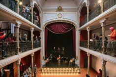 Teatro Huemul. Barrio Huemul. Santiago de Chile