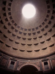 From Rome With Love: The Pantheon Ceiling