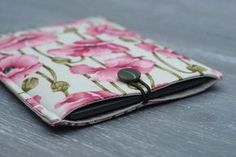 iPad Mini Cover / Floral Kindle Touch Case  Electronics & Accessories,  Electronics Cases,  case sleeve,  kindle touch,  ipad mini,  kindle floral, kindle case, case with button,  pink gadget case,  cover kindle, paperwhite,  gadget cover case,  gadget case,  kindle cover