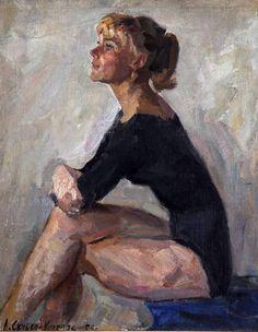 """Скубко-Карпас Людмила Львовна  """"Спортсменка"""", 1959г."""