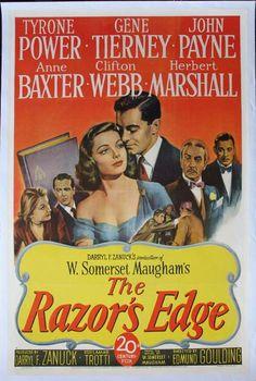 W. Somerset Maugham's The Razor's Edge 1946