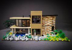 Lego Mansion, Lego Furniture, Lego Truck, Lego Sculptures, Futuristic City, Cool Lego Creations, Lego Design, Lego House, Lego Building