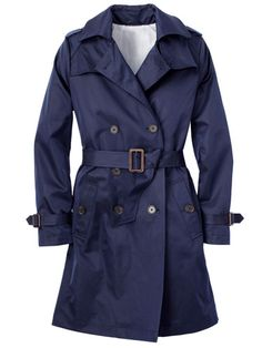 The right pick if you're: Busty. Small lapels don't add bulk. Joe Fresh, $79; joefresh.com for locations.  Read more: Trench Coats for Women - Classic Womens Trench Coat - Redbook