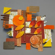Low-relief Rhythmic Sculptures - based on song - or feeling - or event - deconstructing a thought! Sculpture Lessons, Sculpture Projects, Sculpture Art, Cardboard Sculpture, Cardboard Art, Cardboard Relief, 3d Art Projects, School Art Projects, 6th Grade Art