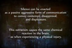 Avoidant Abuse Narcissism Narcissistic Narc Silent Abuse Stonewalling Silent Treatment Cold Shoulder