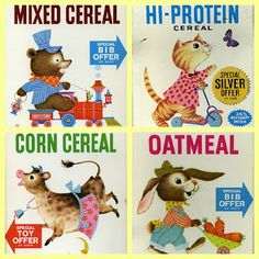 1960's Beech-Nut Cereal. I remember my mom making this for my youngest sister in the early 60's.