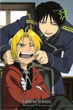 Edward and Roy Fullmetal Alchemist