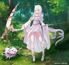 Cute Anime Chibi, Chica Anime Manga, Kawaii Anime Girl, Anime Figures, Anime Characters, Ken Anime, Demi Human, Monster Musume, Anime Base