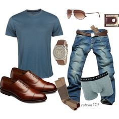A fashion look from August 2014 featuring Allen Edmonds socks and John Lewis sunglasses. Browse and shop related looks.