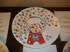 Silent Auction fingerprint platter
