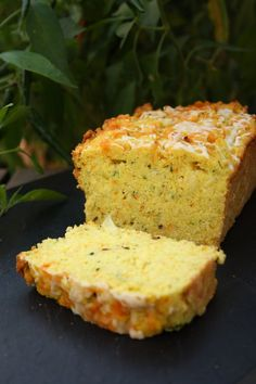 Zucchini Cornbread. I'm going to make a cornbread to accompany some veggie green chili for dinner tonight. I'll have to tweak the recipe to make it GF, but I think the zucchini and chiles in this version sound amazing!