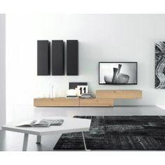Luxury Hochwertige FGF Mobili Wohnwand CB aus hochwertigen Parawoodholz in Farben erh ltlich