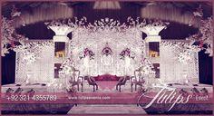 Best thematic wedding planner flower stage decoration lighting catering services provider in Lahore Pakistan Pakistani Wedding Stage, Wedding Stage Decorations, Catering Services, Table Arrangements, Luxury Decor, Event Management, Event Decor, Wedding Designs, Event Planning
