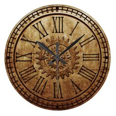 Steampunk Wall Clock 3