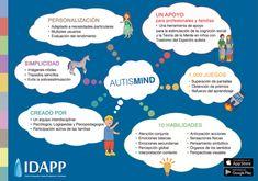 AutsiMIND, es una app para estimular el desarrollo de la Teoría de la Mente y la cognición social en niños con Trastornos del Espectro Autista.