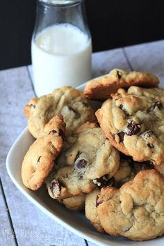 Soft Chocolate Chip Cookie Recipe #chocolatechip #cookierecipe #dessert
