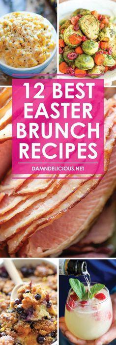 12 Best Easter Brunch Recipes