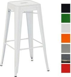 Metall-Barhocker JOSHUA, klassich, robust & stapelbar, aus bis zu 7 Farben wählen, Sitzhöhe 77 cm Jetzt bestellen unter: https://moebel.ladendirekt.de/kueche-und-esszimmer/bar-moebel/barhocker/?uid=17003274-5f88-5a3a-9ebf-13d483feef4e&utm_source=pinterest&utm_medium=pin&utm_campaign=boards #barhocker #kueche #stehtische #esszimmer #barmoebel