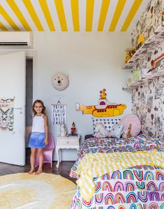This kids airplane kids bed with an aviation-inspired design is perfect for an airplane theme decoration for kids Yellow Submarine, Airplane Kids, Beatles Art, Baby Bedroom, Kid Beds, Toddler Bed, Design Inspiration, Yellow Bedrooms, Furniture