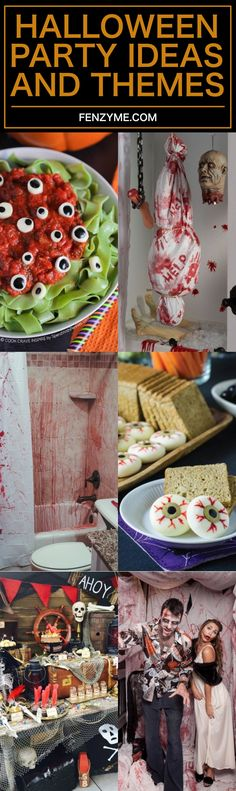 10 Enjoyable Halloween Party Ideas and Themes for 2017