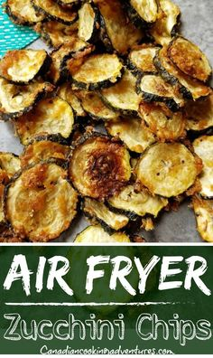 Air Fryer Zucchini Chips Recipes on a budget Air Fryer Zucchini Chips Air Fryer Recipes Easy, Easy Healthy Recipes, Real Food Recipes, Healthy Snacks, Easy Meals, Cooking Recipes, Healthy Chips, Paleo Ideas, Diabetic Snacks