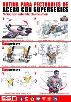 ejercicios de volumen pectorales