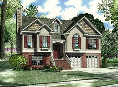 Nelson Design Group | House Plans| split foyer plans, may end up being helpful for a remodel