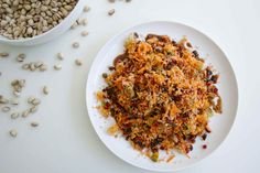 The Brown Paper Bag | QUINOA POMEGRANATE AND CARROT PILAF