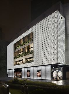 The first Louis Vuitton Maison store opening in Shanghai Plaza 66