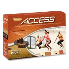 Chocolate Orange Kick  With Melaleuca's exclusive technology inside, this bar allows you to maximize your weight-loss potential each workout by jump-starting your body's fat-burning process.