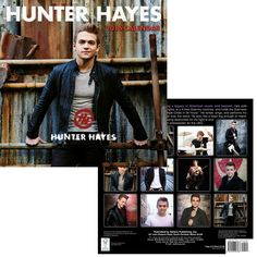 2016 hunter hayes calendar