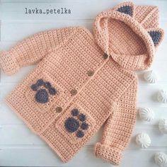 Baby Knitting Patterns Sweaters Crochet Baby Bear Sweater Free Pattern P - Crochet Baby Bear Sweater - . How to Crochet a Bear - Crochet Ideas Haak Baby Bear trui Gratis patroon P - haak Baby Bear trui - . Crochet Baby Sweaters, Crochet Baby Cardigan, Crochet Coat, Crochet Winter, Crochet Baby Clothes, Crochet Jacket, Crochet Toddler, Baby Girl Crochet, Crochet For Boys
