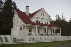 Heceta Head Lightkeeper's House Bed and Breakfast, between Florence and Yachats, OR