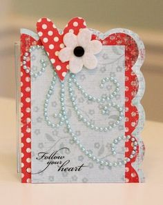 Follow Your Heart Card by Kim Hughes