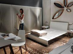 Armadio moderno / in MDF / in legno laccato / con porta battente BLEND by Karim Rashid HORM.IT