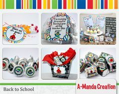 Back to School printable bundle from #AmandaCreation includes 18 back to school printables