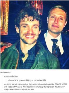 #BFF #Hannibal #Hannigram ga we're all nerds