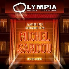 Michel Sardou - Olympia 2CD / 1975 & 1976