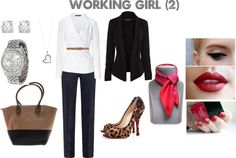 """working girl (2)"" by fiorella-garcia-pacheco-morzan on Polyvore"